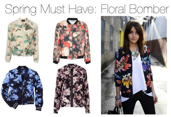 Spring Must Have: Floral Bomber | Dev Loves
